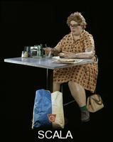 Hanson, Duane (1925-1996) Woman Eating, 1971
