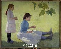 Maillol, Aristide (1861-1944) La couronne de fleurs, 1889
