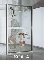 Duchamp, Marcel (1887-1968) La sposa messa a nudo dai suoi scapoli, o Il grande vetro, 1915-23