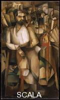 Gleizes, Albert (1881-1953) Man on a Balcony (Portrait of Dr. Morinaud), 1912