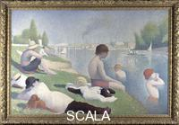 Seurat, Georges (1859-1891) Bathers at Asnieres, 1884.