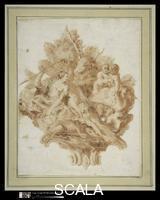 Piazzetta, Giovanni Battista (1683-1754) Vignette Illustrating Torquato Tasso's 'Gerusalemme Liberata' (X:78). 1745