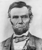 ******** Abraham Lincoln, 16th President of the United States. Lincoln (1809-1865) joined the Republican party in 1858 and was elected president two years later. In 1863, he proclaimed the emancipation of all slaves in the southern Confederate states and later that year restated his anti-slavery views in the Gettysburg Address. During his 1864 campaign for re-election, he embraced the abolition of slavery. He was infamously shot by actor John Wilkes Booth whilst attending the theatre in 1865.