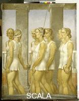Keil Gerhard (1912-) Ginnaste (o Le atlete spartane), 1939