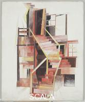Demuth, Charles (1883-1935) Stairs, Provincetown, 1920