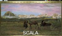 Segantini, Giovanni (1858-1899) Return to home. 1895
