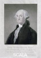 Nutter William (1754-1802) Portrait of George Washington, 1798. After commanding the American Revolutionary army to victory over the British in the American War of Independence, Washington (1732-1799) served as the first President of the newly independent United States from 1789-1797.