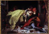 Cabanel, Alexandre (1823-1889) Mort de Francesca de Rimini et de Paolo Malatesta (1284). 1870