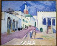 Camoin, Charles (1879-1965) Tanger. Vue d'une rue de la ville de tanger au Maroc. 1913