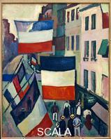 Dufy, Raoul (1877-1953) La rue pavoisee, un 14 juillet. 1906