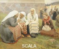 ******** Ruokokoski women, by Albert Edelfelt, Finland 19th century.