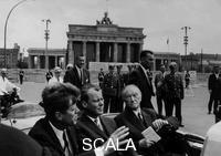 McBride, Will (b. 1931) Besuch des US-Präsidenten John F. Kennedy in West-Berlin. 26.06.1963
