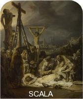 Rembrandt van Rijn (1606-1669) The Lamentation over the Dead Christ, about 1635