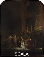 Rembrandt van Rijn (1606-1669) The Woman taken in Adultery, 1644
