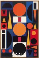 Herbin, Auguste (1882-1960) Vie No. 1. 1950.