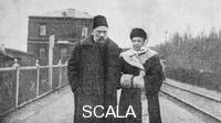 ******** Sofja Andrejewna Tolstoy with her son Ivan Lvovitsch Tolstoy