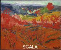 Vlaminck, Maurice de (1876-1958) Autumn Landscape, c. 1905