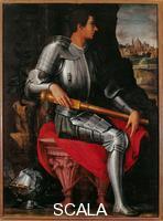 Vasari, Giorgio (1511-1574) Giorgio Vasari (1511-1574); Portrait d'Alexandre des Medicis; Galerie des Offices; Florence