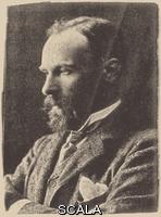 ******** Portrait of John William Waterhouse. Private Collection. Artist: H.S. Mendelssohn Studio