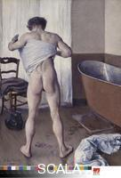 Caillebotte, Gustave (1848-1894) Man at His Bath, 1884
