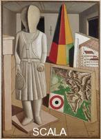 Carra', Carlo (1881-1966) La musa metafisica, 1917