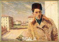 Boccioni, Umberto (1882-1916) Self-Portrait