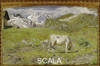 Segantini, Giovanni (1858-1899) Spring Pastures
