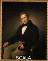 Hayez, Francesco (1791-1881) Portrait of Alessandro Manzoni. 1841