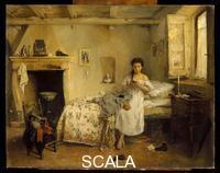 Induno, Girolamo (1827-1890) Sad Presentiment