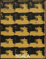 Warhol, Andy (1928-1987) Orange Disaster #5. 1963