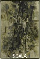Picasso, Pablo (1881-1973) Accordionist. Ceret, summer 1911.