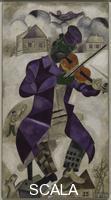 Chagall, Marc (1887-1985) Green Violinist. 1923-24