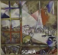 Chagall, Marc (1887-1985) Paris Through the Window. 1913