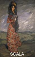 ******** Ignacio Zuloaga y Zabaleta (1870 -1945), Lola the Gypsy Woman.