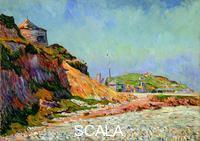 Signac, Paul (1863-1935) Port-en-Bessin, The Beach, 1884