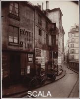 Atget, Eugene (1857-1927) Rue des Ursins. April-May 1923