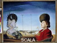 Dali', Salvador (1904-1989) Ritratto della Signora Isabel Styler-Tas (Melancolia), 1945.