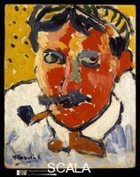 Vlaminck, Maurice de (1876-1958) Andre Derain, 1906