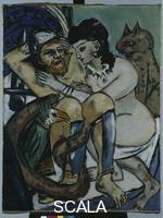 Beckmann, Max (1884-1950) Ulysses and Calypso, 1943