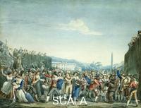 Pinelli, Bartolomeo (1781-1835) Carnival in Rome, Rome, Italy, 1806
