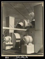 Sheeler, Charles (1883-1965) Upper Deck. United States. ca. 1928