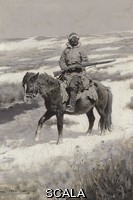 ******** Remington, Frederic (1861-1909). A Manchurian Bandit. c.1904