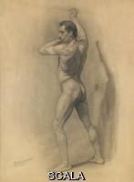 Robinson, Theodore (1852-1896) Robinson, Theodore (1852-1896). Study of the Male Figure. 1875