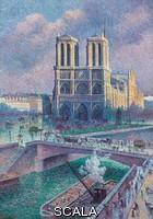 ******** Luce, Maximilien (1858-1941). Notre-Dame de Paris. 1900