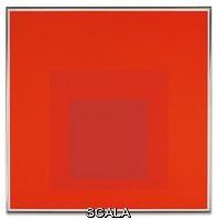 Albers, Josef (1888-1976) Albers, Josef (1888-1976). Homage to the Square: Distant Alarm. 1966