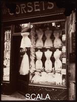 Atget, Eugene (1857-1927) Boulevard de Strasbourg, corsets, 1912