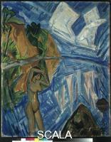 Heckel, Erich (1883-1970) Glaserner Tag, 1913