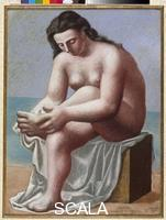 Picasso, Pablo (1881-1973) Seated Nude Drying Her Foot, 1921