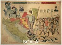 ******** Symbolic map of Irredentist Italy