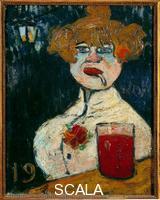 Vlaminck, Maurice de (1876-1958) Sur le zinc, 1900